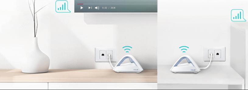 华硕金字塔―Lyra Trio分布式Wi-Fi系统,直降1000元