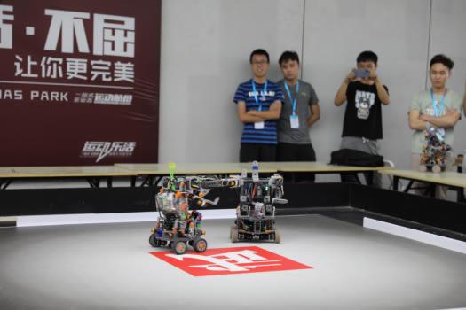 2019中国机器人大赛青岛即墨开赛科技烽火点燃齐