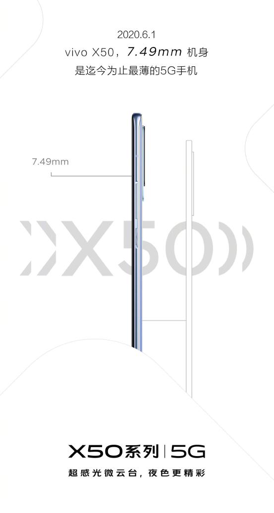 雅致设计+首创微云台,即将发布的vivo X50手机有料