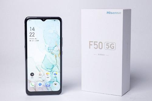5G手机中的续航领跑者 海信手机F50开启5G新速度