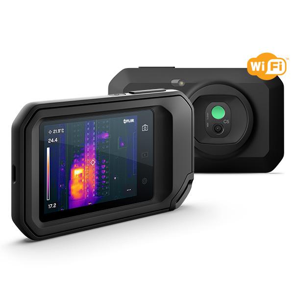 新品上市 首款Ignite云连接――FLIR C5口袋热像仪!